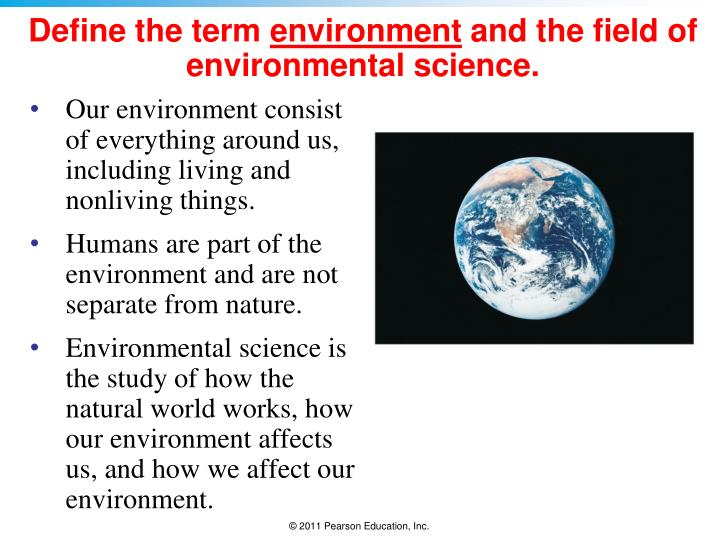 What is Environmental Science? Definition and Scope of the ... |Environmental Science Fields