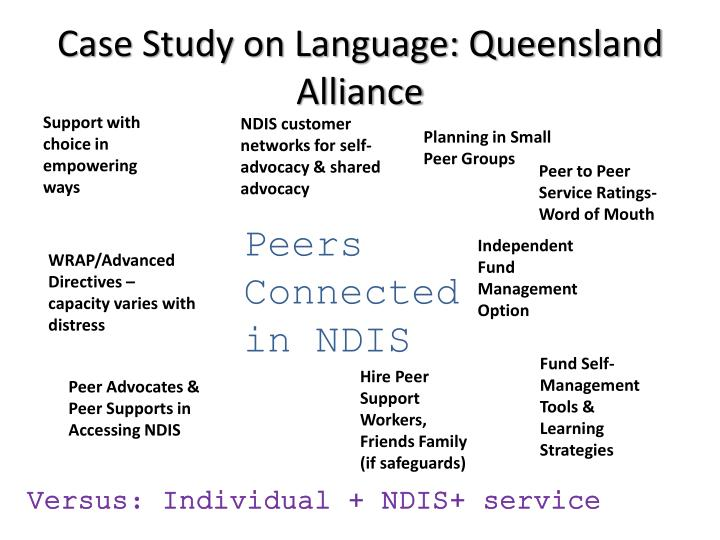 Case Study on Language: Queensland Alliance
