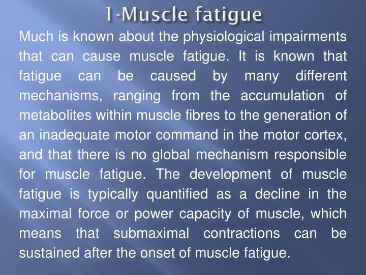 1-Muscle