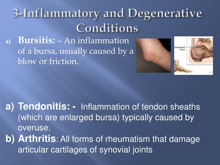 3-Inflammatory and Degenerative