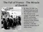 the fall of france the miracle of dunkirk