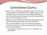 connotation cont