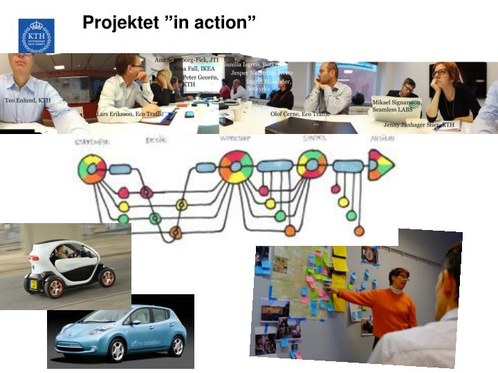 "Projektet ""in action"""