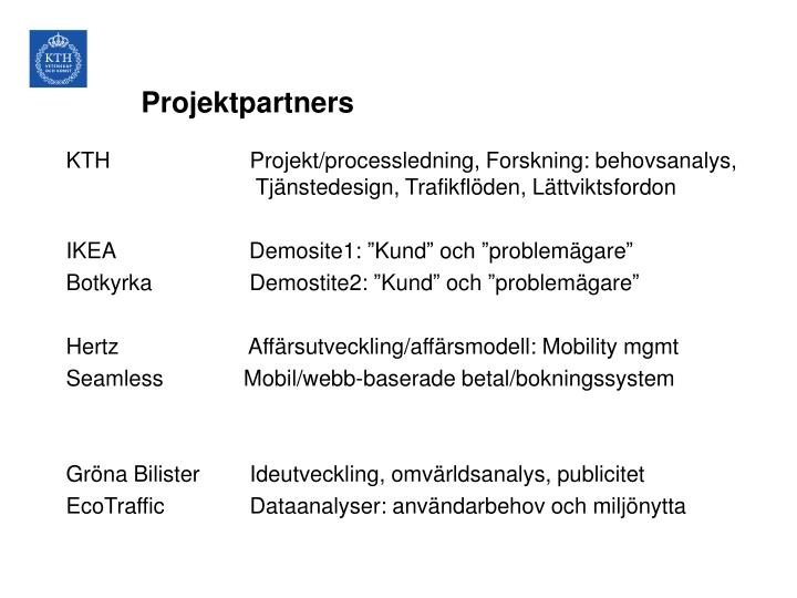 Projektpartners