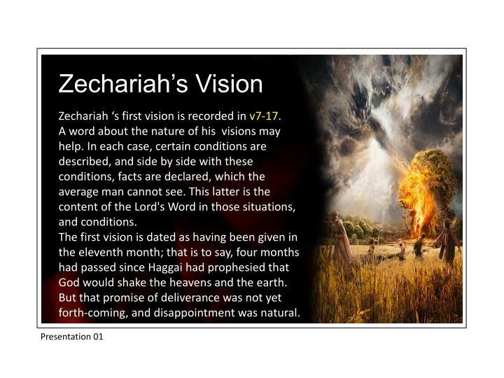 Zechariah's Vision