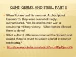 guns germs and steel part ii
