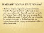 pizarro and the conquest of the incans