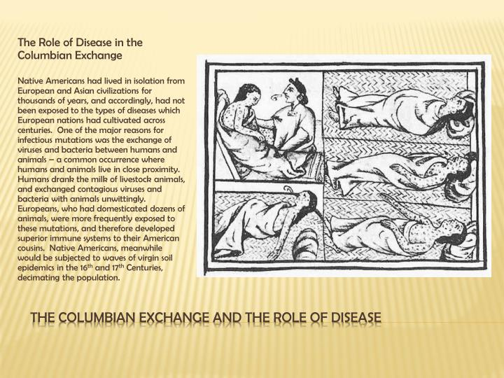 The Role of Disease in the Columbian Exchange