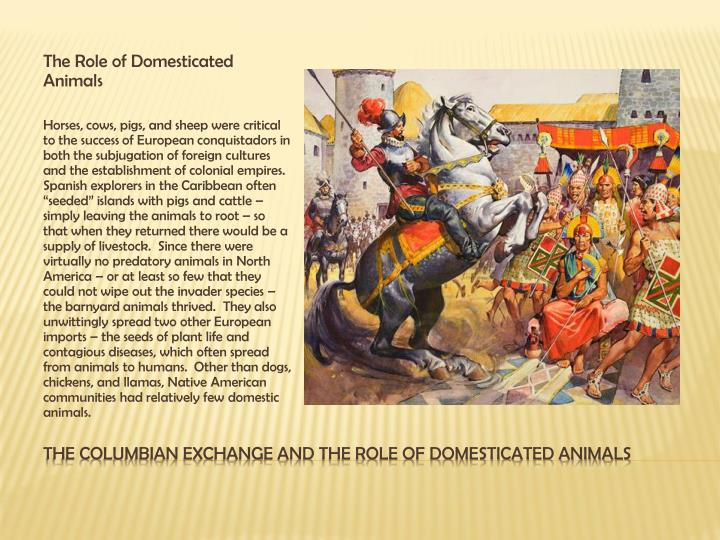 The Role of Domesticated Animals