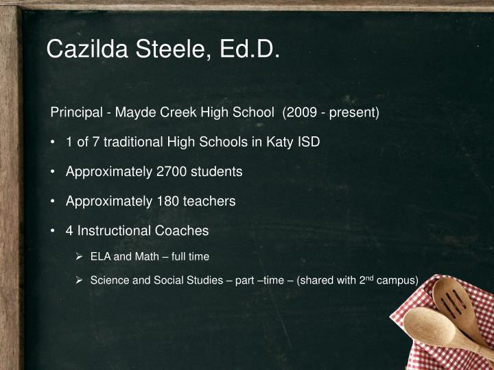 Cazilda Steele,