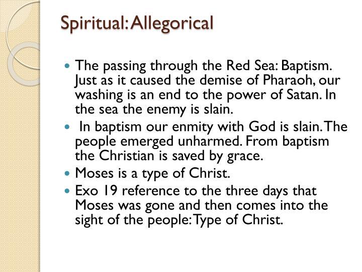 Spiritual: Allegorical