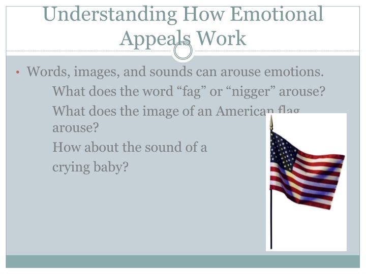 Understanding How Emotional Appeals Work