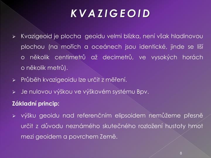 KVAZIGEOID