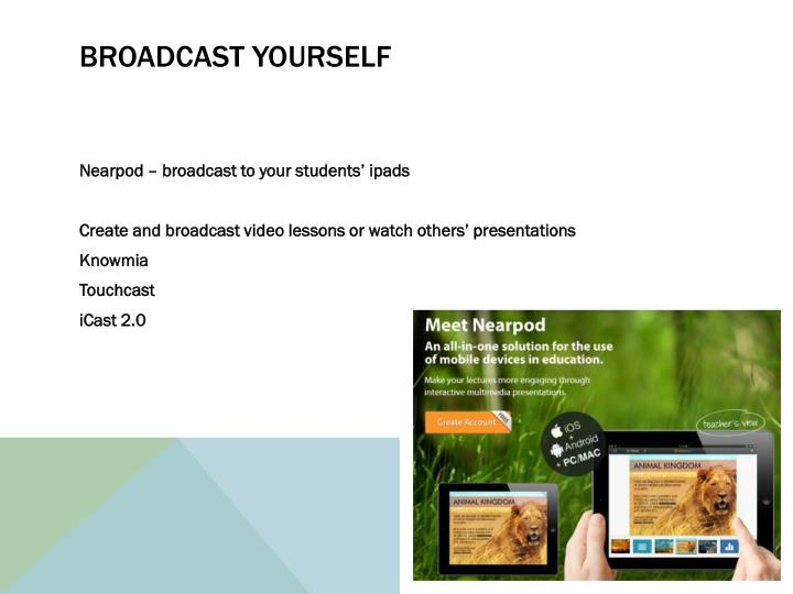 Broadcast yourself