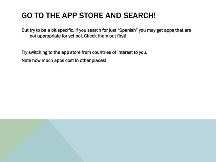 Go to the App Store and search!