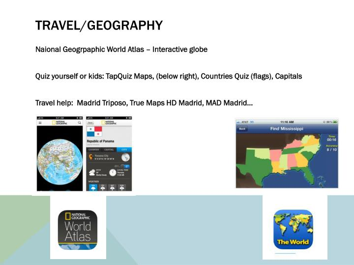 Travel/geography