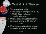 the central limit theorem6