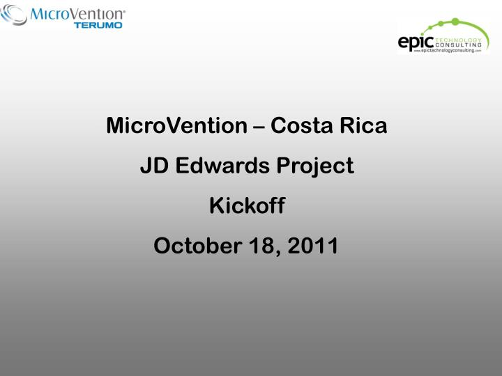 MicroVention – Costa Rica