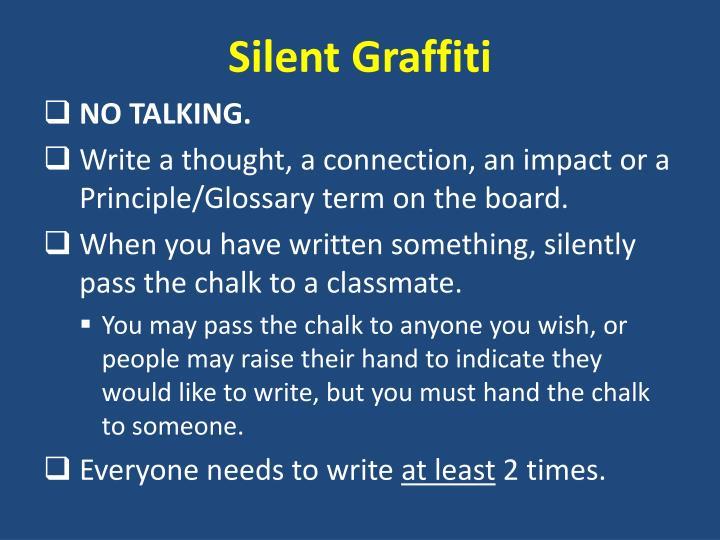 Silent Graffiti