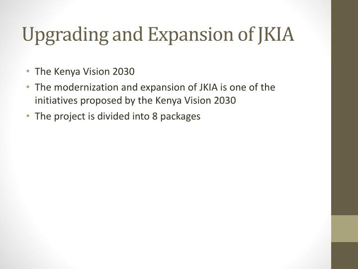 Upgrading and Expansion of JKIA