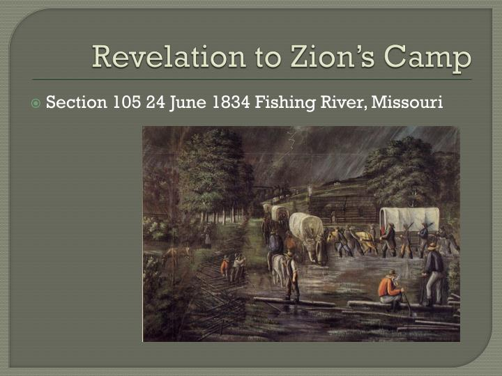 Revelation to Zion's Camp