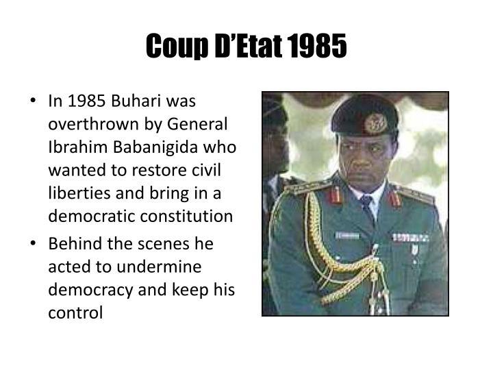 Coup D'Etat 1985