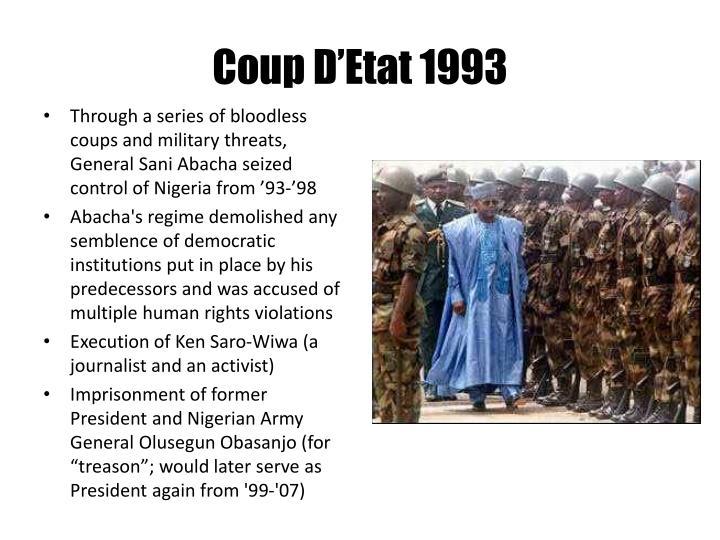 Coup D'Etat 1993