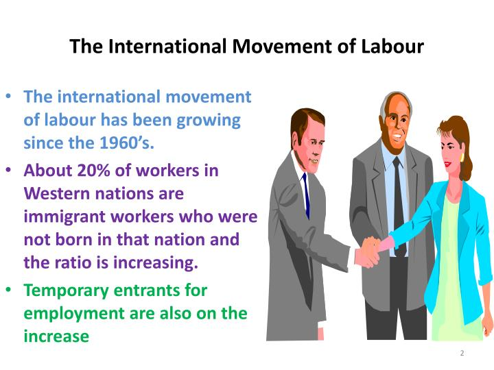The international movement of labour