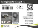 intelligent data recognition