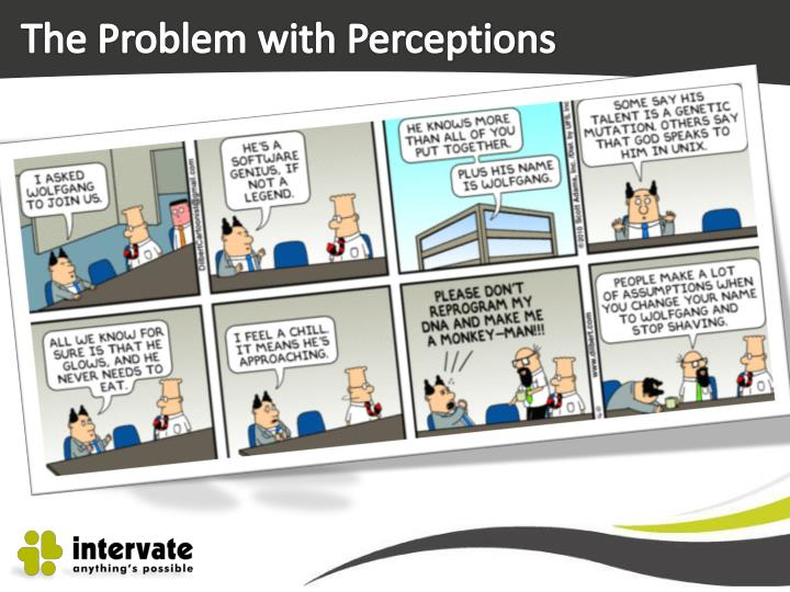 The Problem with Perceptions