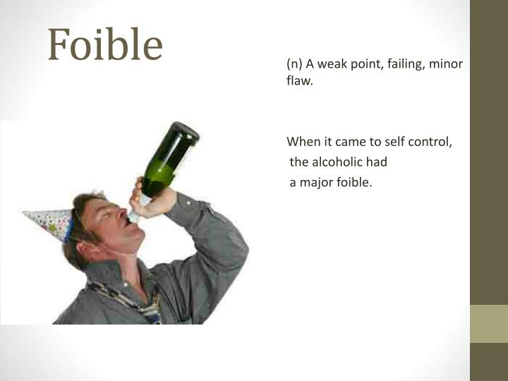 Foible