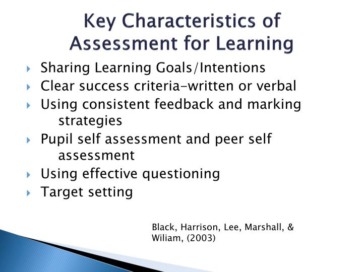 Key Characteristics of