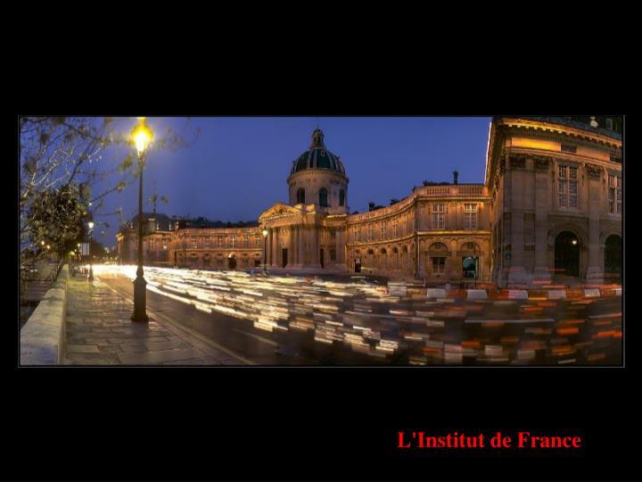 L'Institut de France