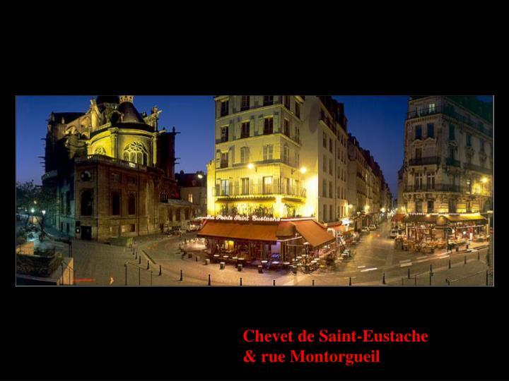 Chevet de Saint-Eustache