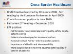 cross border healthcare