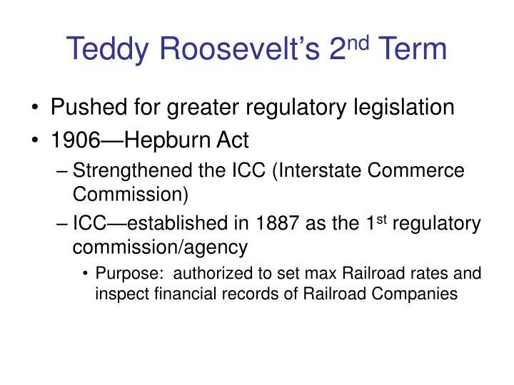 Teddy Roosevelt's 2