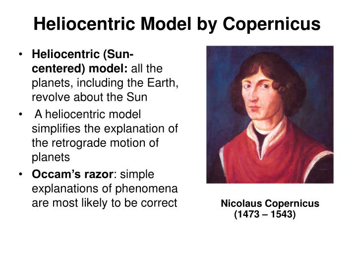 Heliocentric Model by Copernicus