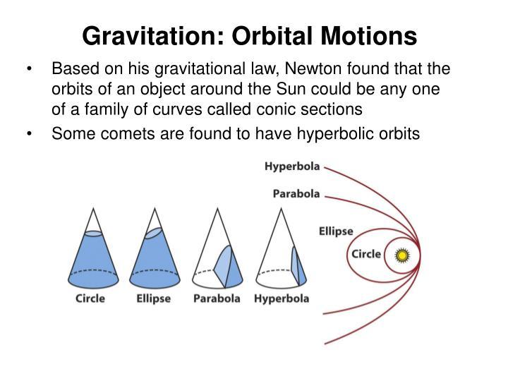 Gravitation: Orbital Motions