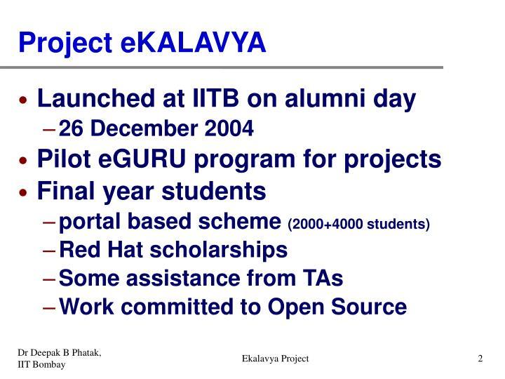 Ekalavya Project