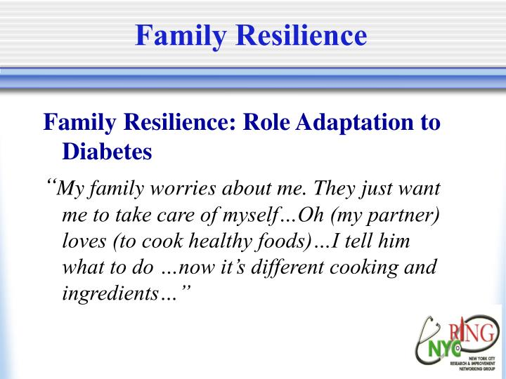 Family Resilience