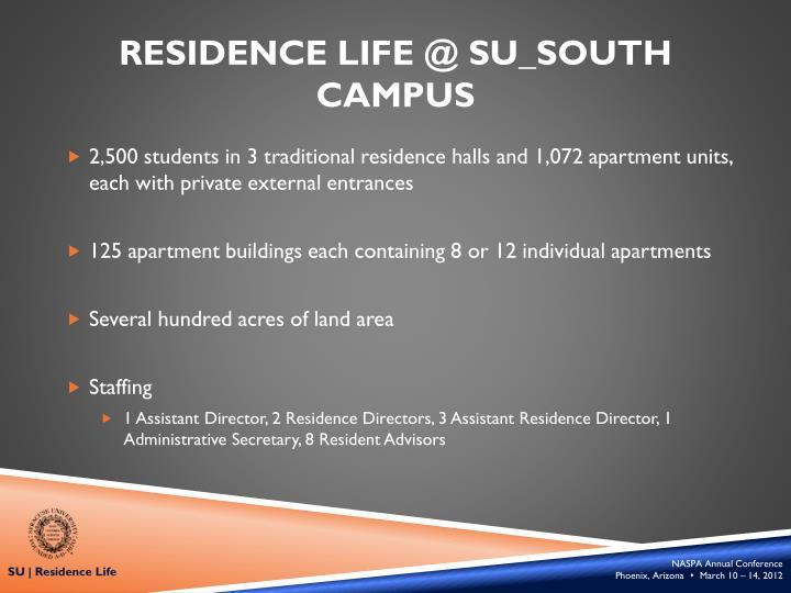 Residence Life @