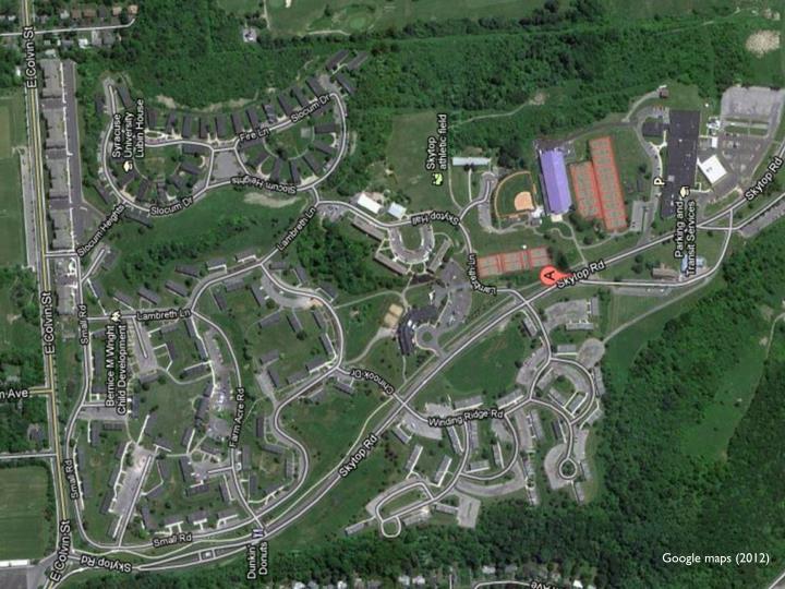 Google maps (2012)