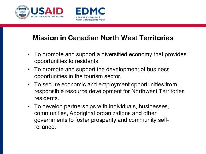 Mission in Canadian North West Territories