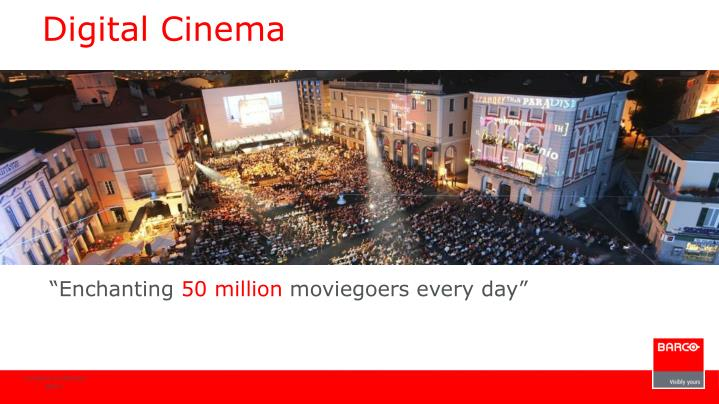 Digital Cinema