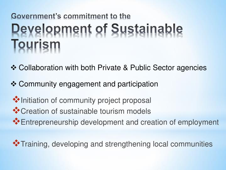 Initiation of community project proposal