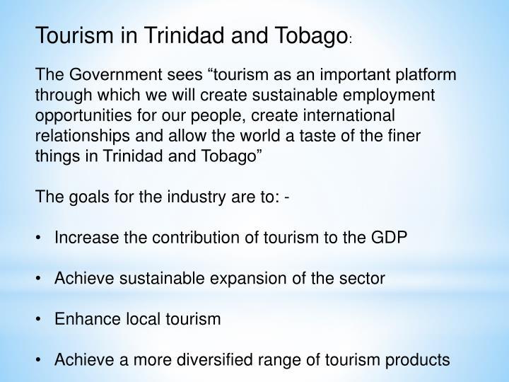 Tourism in Trinidad and Tobago