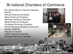 bi national chambers of commerce