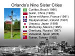 orlando s nine sister cities