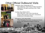 other official outbound visits1