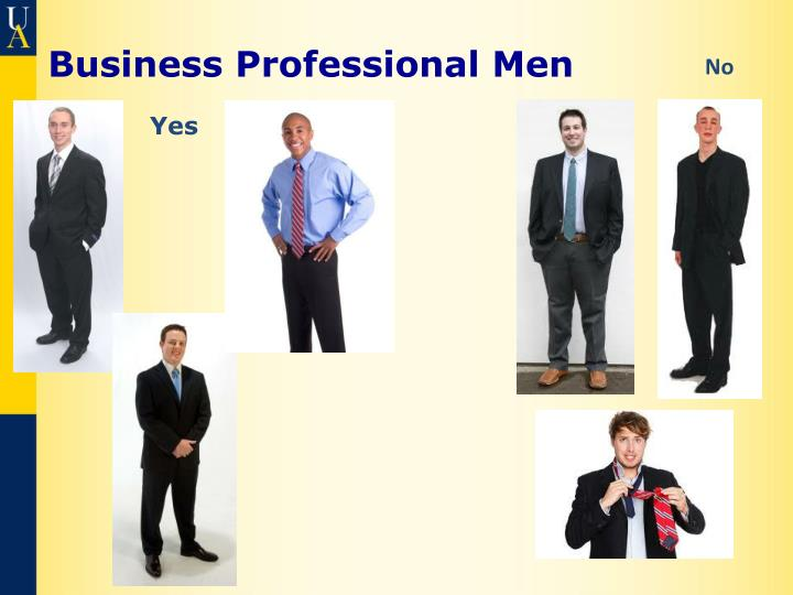 Business Professional Men